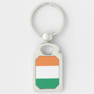 Republic of Ireland Flag Metal Keychain