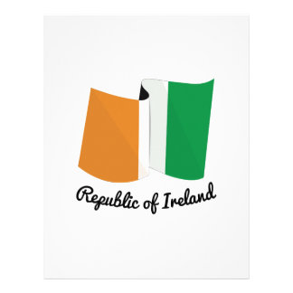 Republic Of Ireland Personalized Letterhead