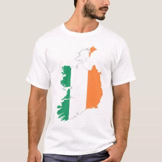 Republic Of Ireland Map Flag T-Shirt