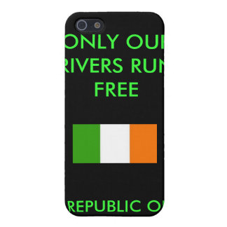 REPUBLIC OF IRELAND, ONLY OUR RIVERS RUN ... iPhone SE/5/5s COVER