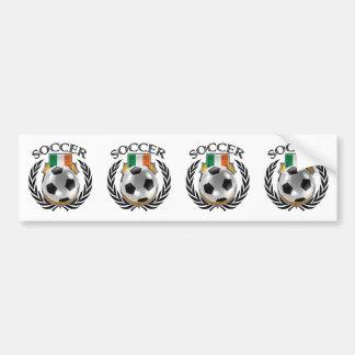 Republic of Ireland Soccer 2016 Fan Gear Bumper Sticker