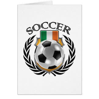 Republic of Ireland Soccer 2016 Fan Gear Card