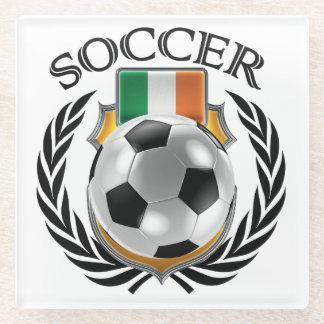 Republic of Ireland Soccer 2016 Fan Gear Glass Coaster