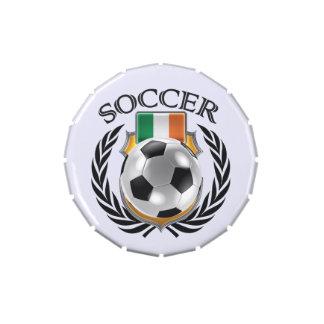 Republic of Ireland Soccer 2016 Fan Gear Jelly Belly Tin