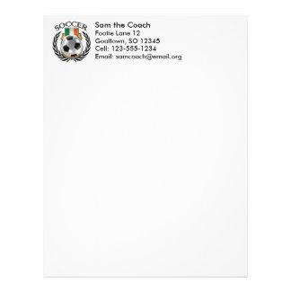Republic of Ireland Soccer 2016 Fan Gear Letterhead