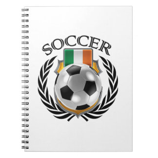 Republic of Ireland Soccer 2016 Fan Gear Notebook