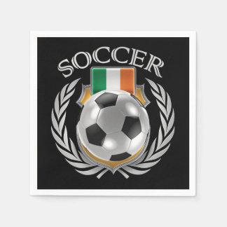 Republic of Ireland Soccer 2016 Fan Gear Paper Napkin