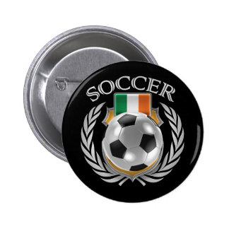Republic of Ireland Soccer 2016 Fan Gear Pinback Button