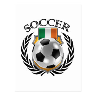 Republic of Ireland Soccer 2016 Fan Gear Postcard