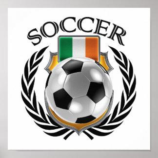 Republic of Ireland Soccer 2016 Fan Gear Poster