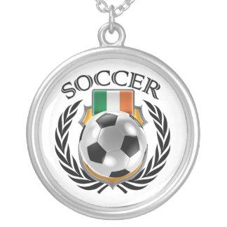 Republic of Ireland Soccer 2016 Fan Gear Silver Plated Necklace