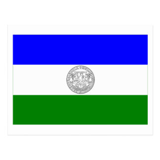 Republic of Jämtland flag (unofficial) Postcard
