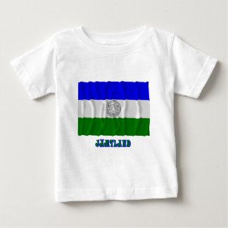 Republic of Jämtland waving flag with name T Shirt