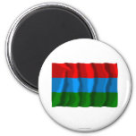 Republic of Karelia Flag Fridge Magnets