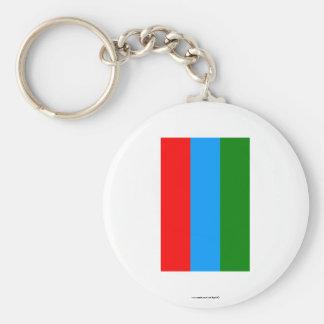 Republic of Karelia Flag Keychain