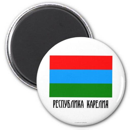 Republic of Karelia Flag Magnet