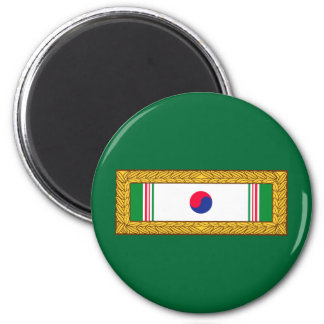 Republic of Korea Presidential Unit Citation Magnet