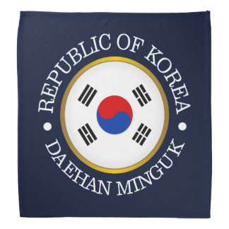 Republic of Korea (ROK) Bandana