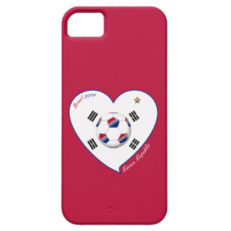 REPUBLIC OF KOREA SOCCER national flag 2014 iPhone SE/5/5s Case