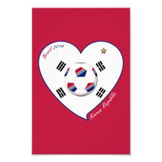 REPUBLIC OF KOREA SOCCER national flag 2014 Photo