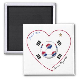REPUBLIC OF KOREA SOCCER of national team 2014 Magnets