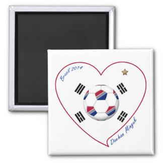 REPUBLIC OF KOREA SOCCER of national team 2014 Fridge Magnets
