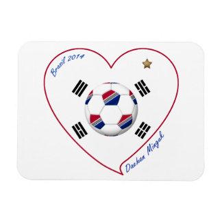REPUBLIC OF KOREA SOCCER of national team 2014 Vinyl Magnet