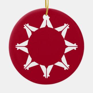 Republic of Lakotah Ceramic Ornament