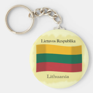 Republic of Lithuania Keychain