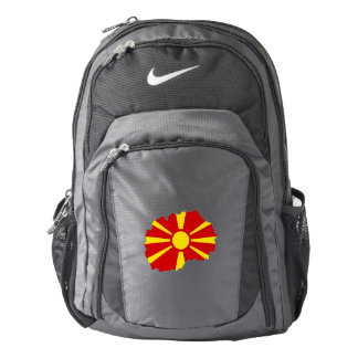 Republic of Macedonia Flag/Map Backpack