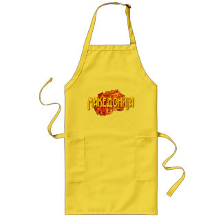 Republic of MAcedonia Long Apron