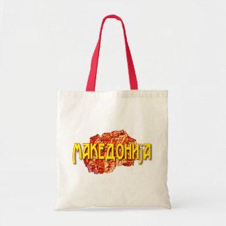 Republic of Macedonia Tote Bag