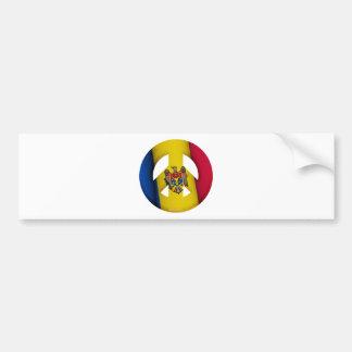 Republic of Moldova Bumper Sticker