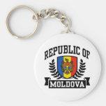 Republic of Moldova Keychains