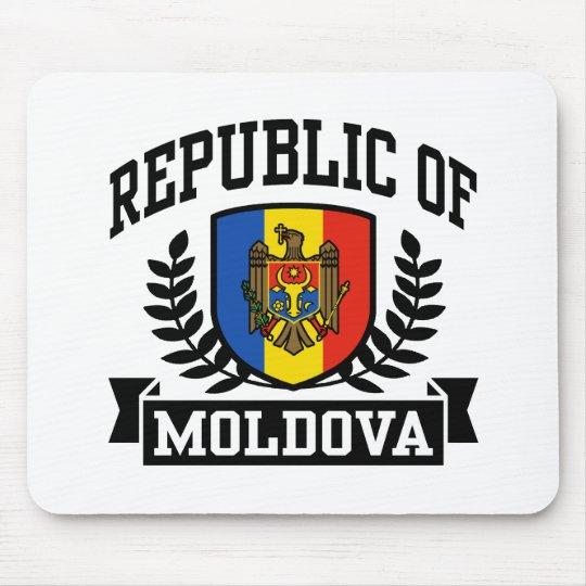 Republic of Moldova Mouse Pad