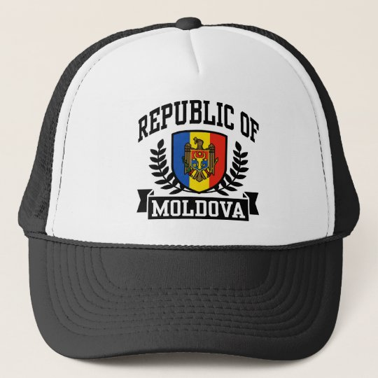 Republic of Moldova Trucker Hat