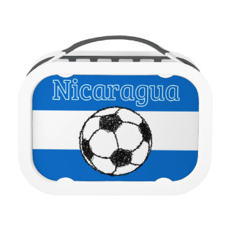 Republic of Nicaragua | Football Lunch Box