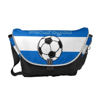 Republic of Nicaragua | Football Messenger Bag