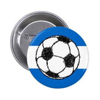Republic of Nicaragua | Football Pinback Button