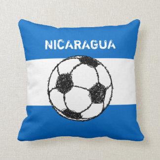 Republic of Nicaragua | Football Throw Pillow