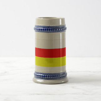 Republic of North Ossetia-Alania Flag Beer Stein