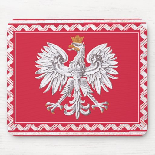 Republic of Poland Mouse Pad