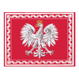 Republic of Poland Post Card