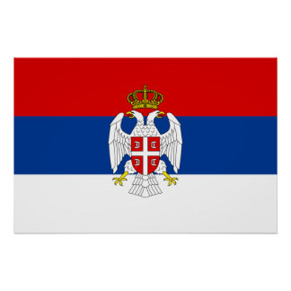 Republic Of Serbian Krajina, Croatia Poster