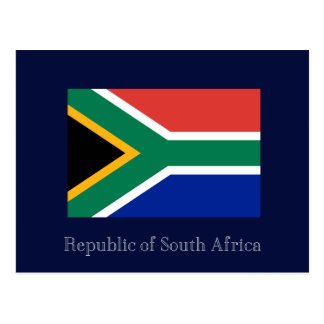 Republic of South Africa Postcard