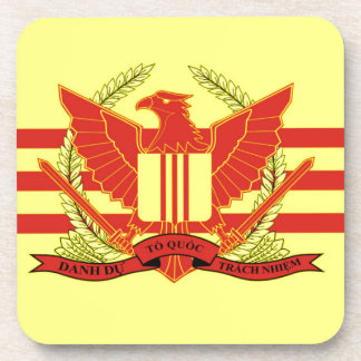 Republic of South Vietnam Military Forces Flag Beverage Coaster