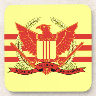 Republic of South Vietnam Military Forces Flag Drink Coaster