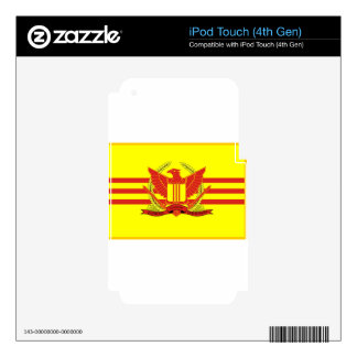 Republic of South Vietnam Military Forces Flag iPod Touch 4G Skin