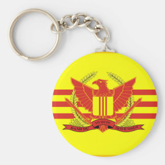 Republic of South Vietnam Military Forces Flag Keychain