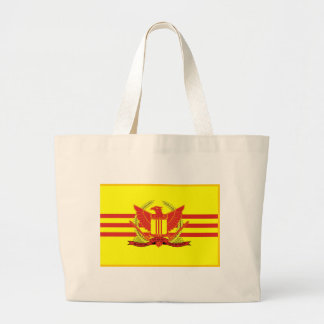 Republic of South Vietnam Military Forces Flag Large Tote Bag
